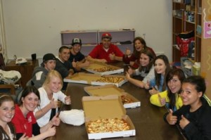 Boys and Girls Club Pizza